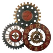 Rusty Movements Wall Clock