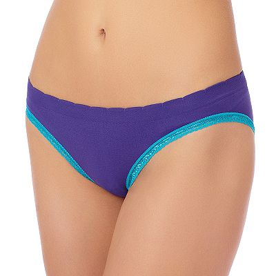 St. Eve Ruched Lace-Trim Tanga