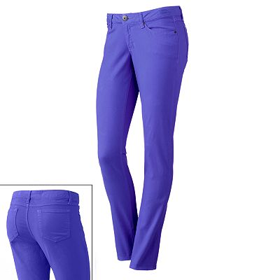 Mudd Color Skinny Jeans - Juniors