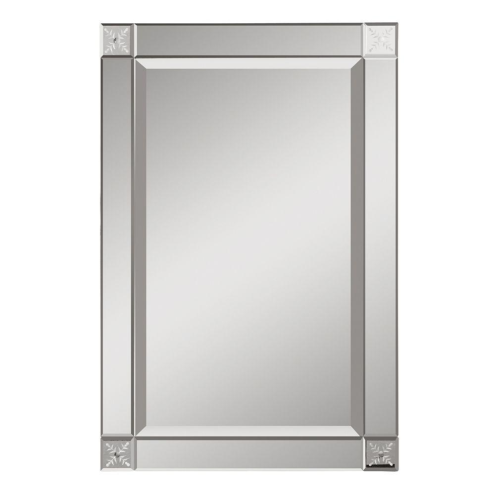 Uttermost Emberlynn Frameless Wall Mirror