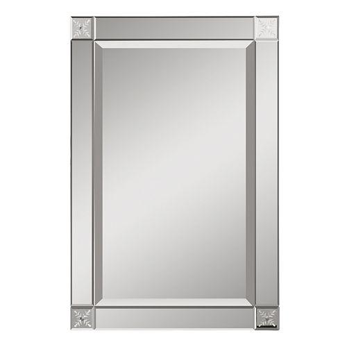 Emberlynn Frameless Wall Mirror