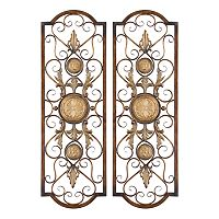 2 pc Micayla Wall Decor Set