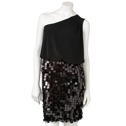 City Triangles Sequin Asymmetrical Dress $ 49.99
