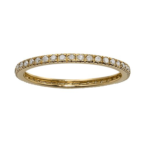 10k Gold 1/3-ct. T.W. Diamond Eternity Wedding Ring