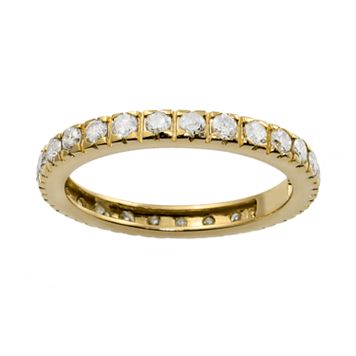 14k Gold 1-ct. T.W. Diamond Eternity Wedding Ring