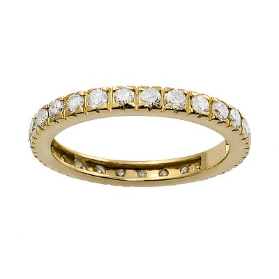 14k Gold 1-ct. T.W. Diamond Eternity Ring