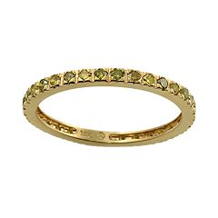 10k Gold 1/2-ct. T.W. Yellow Diamond Eternity Ring