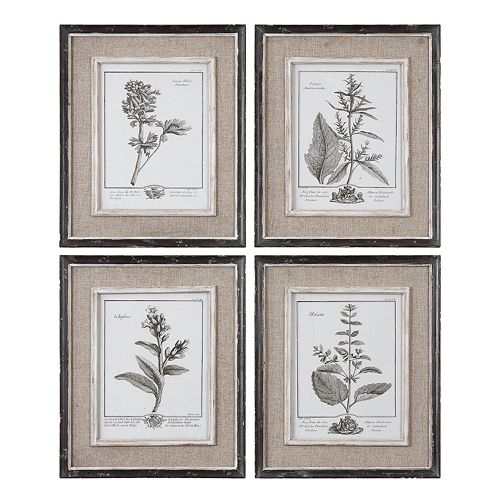 casual grey study framed wall art set