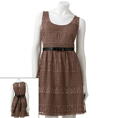 City Triangles Crochet Dress
