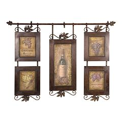 Uttermost Hanging Wine Collage Wall Art