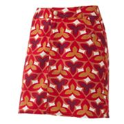 Croft and Barrow Leaf Poplin Skort
