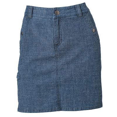 Croft and Barrow Chambray Skort