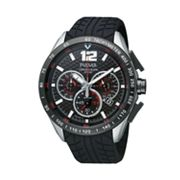 Pulsar Silver Tone Chronograph Watch - PU2021 - Men