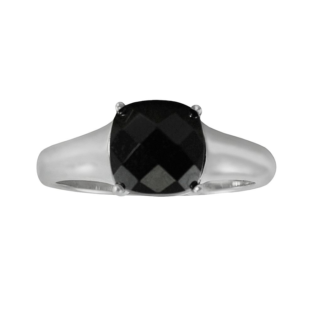 Sterling Silver Onyx Ring