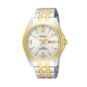 Pulsar Men's Two Tone Watch - PV3012