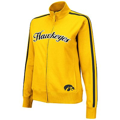 Iowa Hawkeyes Zip-Front Jacket - Juniors'