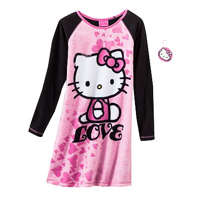 Hello Kitty Love Fleece Sleepshirt - Girls