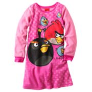 Angry Birds Fleece Nightgown - Girls