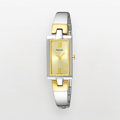 Pulsar Two Tone Watch - PEGG13 - Women