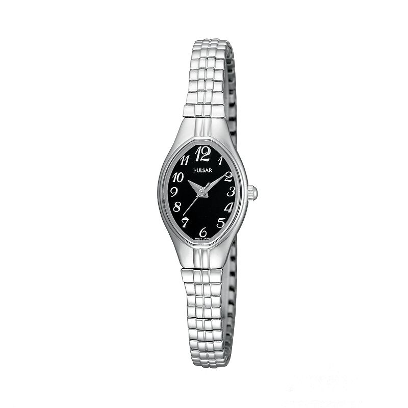 Pulsar Silver Tone Expansion Watch - PC3271 - Women