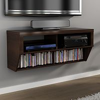 42 in Wall-Mounted Entertainment Center