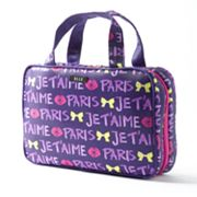 ELLE Sweet Nothing Je t'aime Weekender Cosmetic Bag
