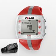 Polar FT7 Silver Tone Heart Rate Monitor Watch - 90039172 - Women