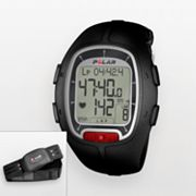 Polar RS100 Black Heart Rate Monitor Watch - 90030907 - Men