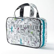 ELLE Sketch Mode Weekender Cosmetic Bag