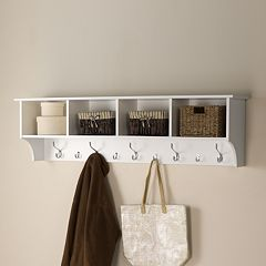 60-in. Entryway Cubby Shelf