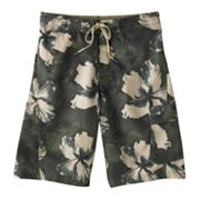 Speedo Wipe Out Floral Cargo Swim Trunks