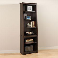 Slant-Back Bookcase