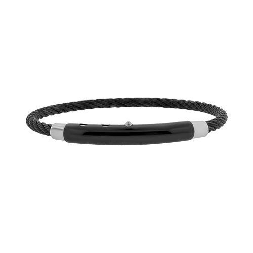 LYNX Two Tone Stainless Steel Bracelet - Men
