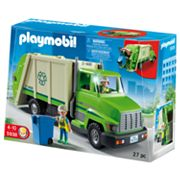Playmobil Green Recycling Truck Playset - 5938