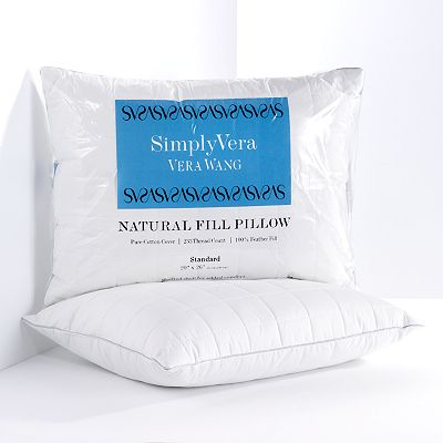 Simply Vera Vera Wang Quilted Feather Pillow