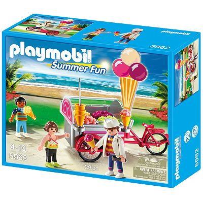 Playmobil Ice Cream Cart Playset - 5962