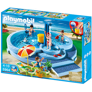 Playmobil Pool Playset - 5964