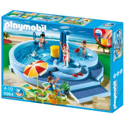 Playmobil Pool Playset - 5964