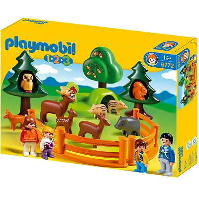 Playmobil Forest Animal Park Playset - 6772
