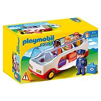 Playmobil 1.2.3 Airport Shuttle Bus - 6773