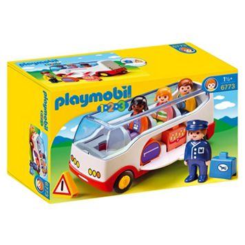 Playmobil 1.2.3 Airport Shuttle Bus - 6773