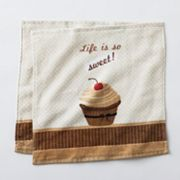 Croft and Barrow Cupcakes 2-pk. Dishcloths