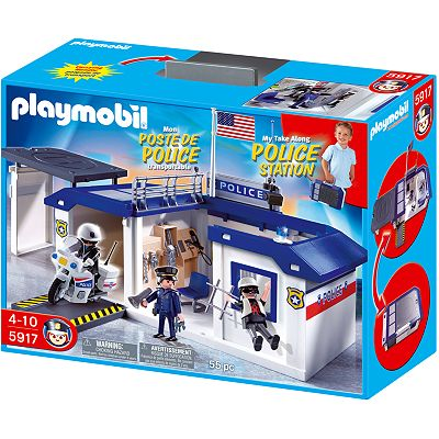 Playmobil Take Along Police Station Playset - 5917