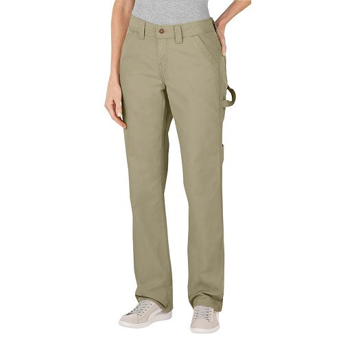 Dickies Relaxed Straight-Leg Canvas Carpenter Pants - Women's