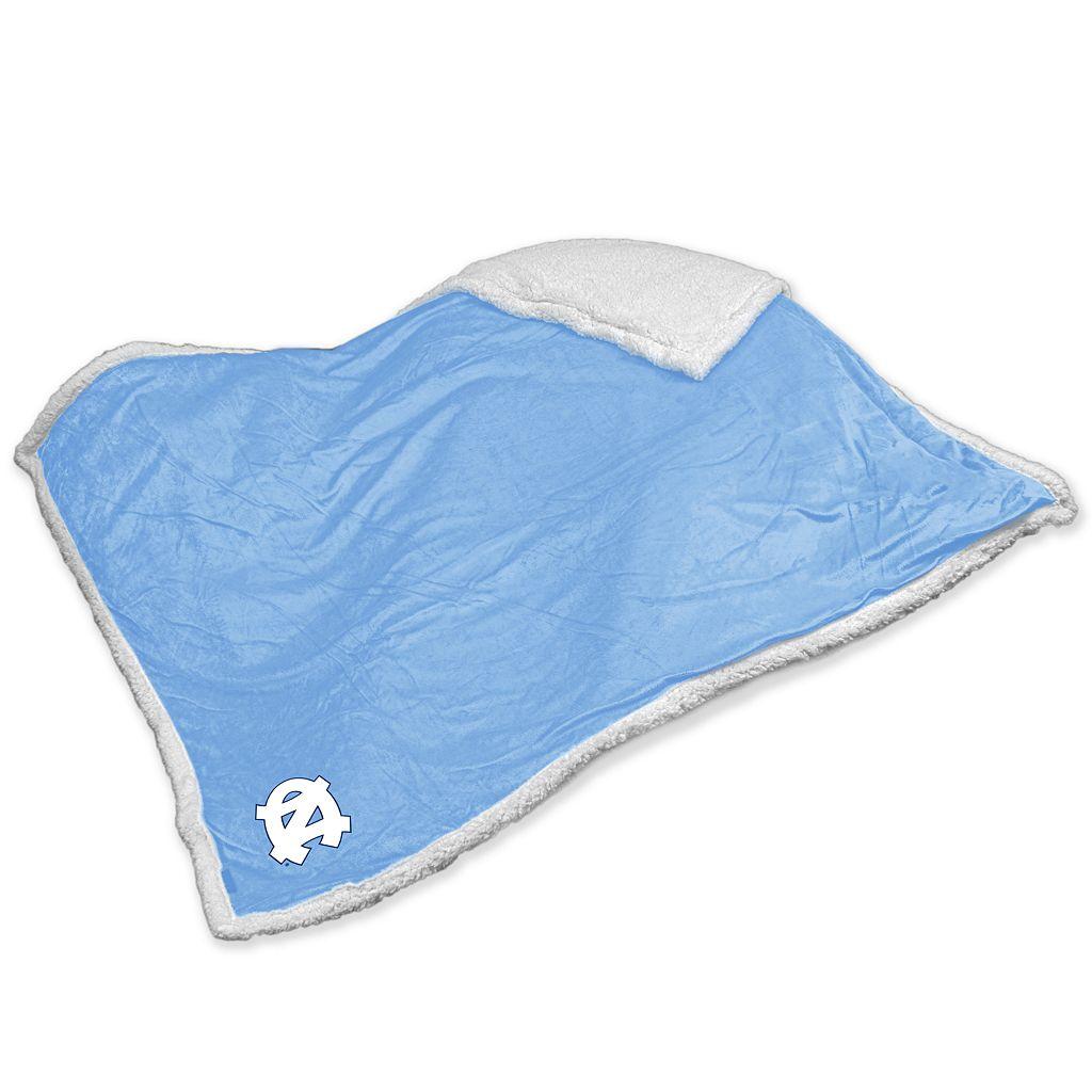 North Carolina Tar Heels Sherpa Blanket