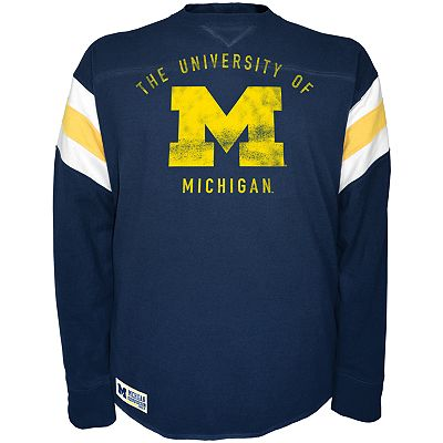 Michigan Wolverines Pigskin Power Tee - Men