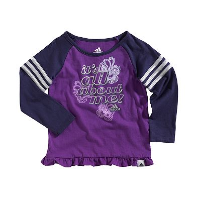 adidas It's All About Me Raglan Tee - Baby