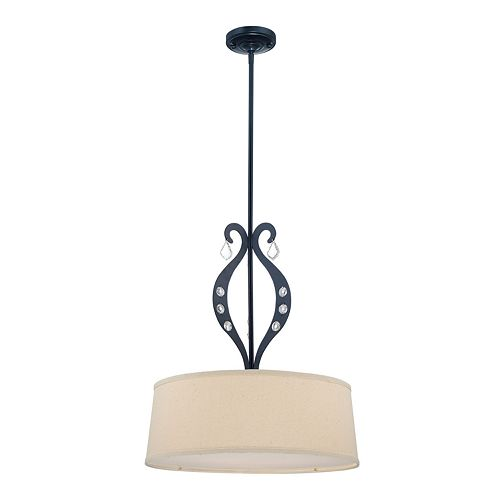 Lyre Drum Ceiling Lamp