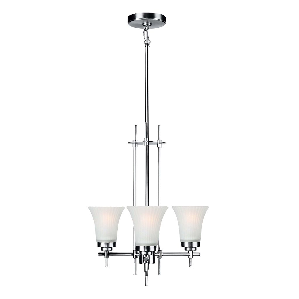 Lite Source Bendek 3-Light Chandelier