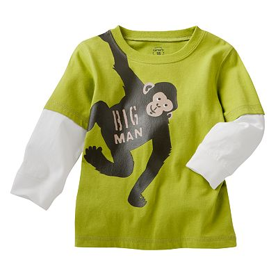 Carter's Mock-Layer Graphic Tee - Baby